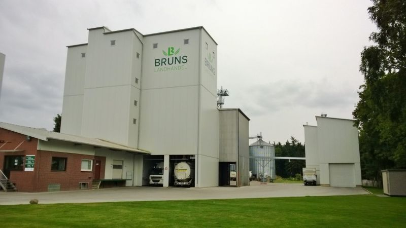 Feed mill - expansion production, build in 2012