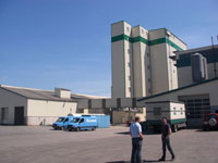 Special feed mill in northern Germany (new building 2010)