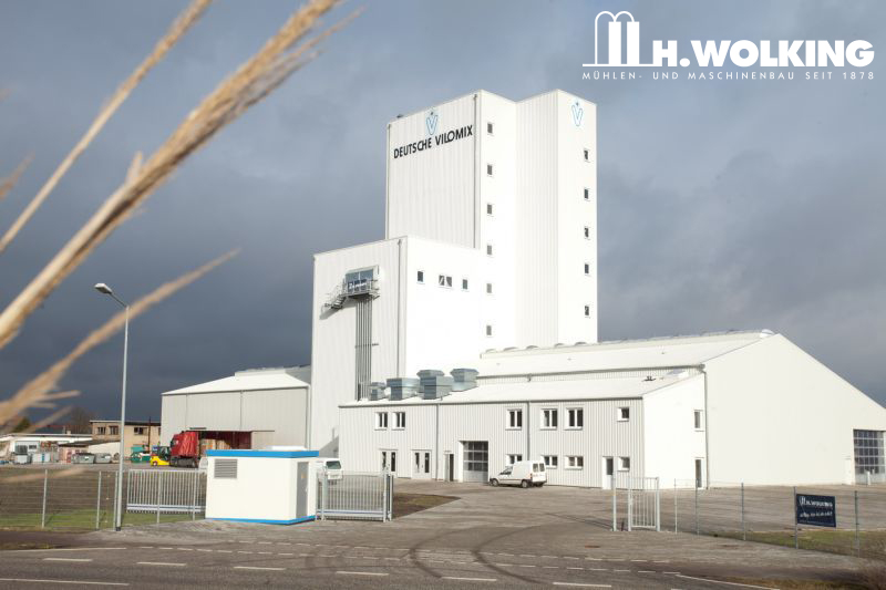 Premix and mineral feed mills