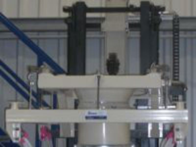 Big Bag filling system for mineral products and individual components