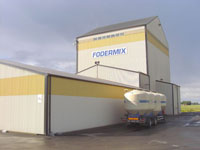 Premix and mineral feed mill in Sweden