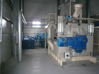 Mixing system for premix and mineral feed