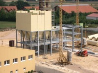 Assembly of premix and mineral feed mill